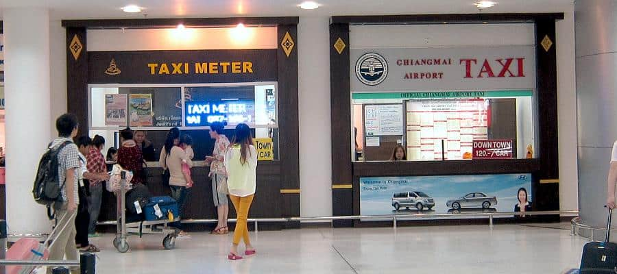 Chiang Mai Taxi Booking Counter