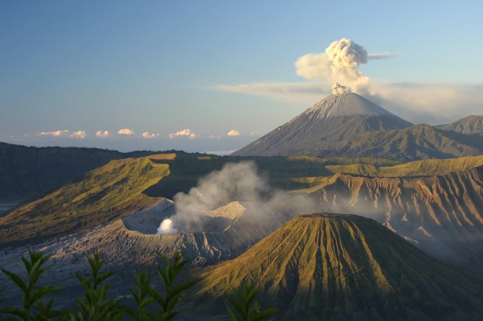 Balinese volcano