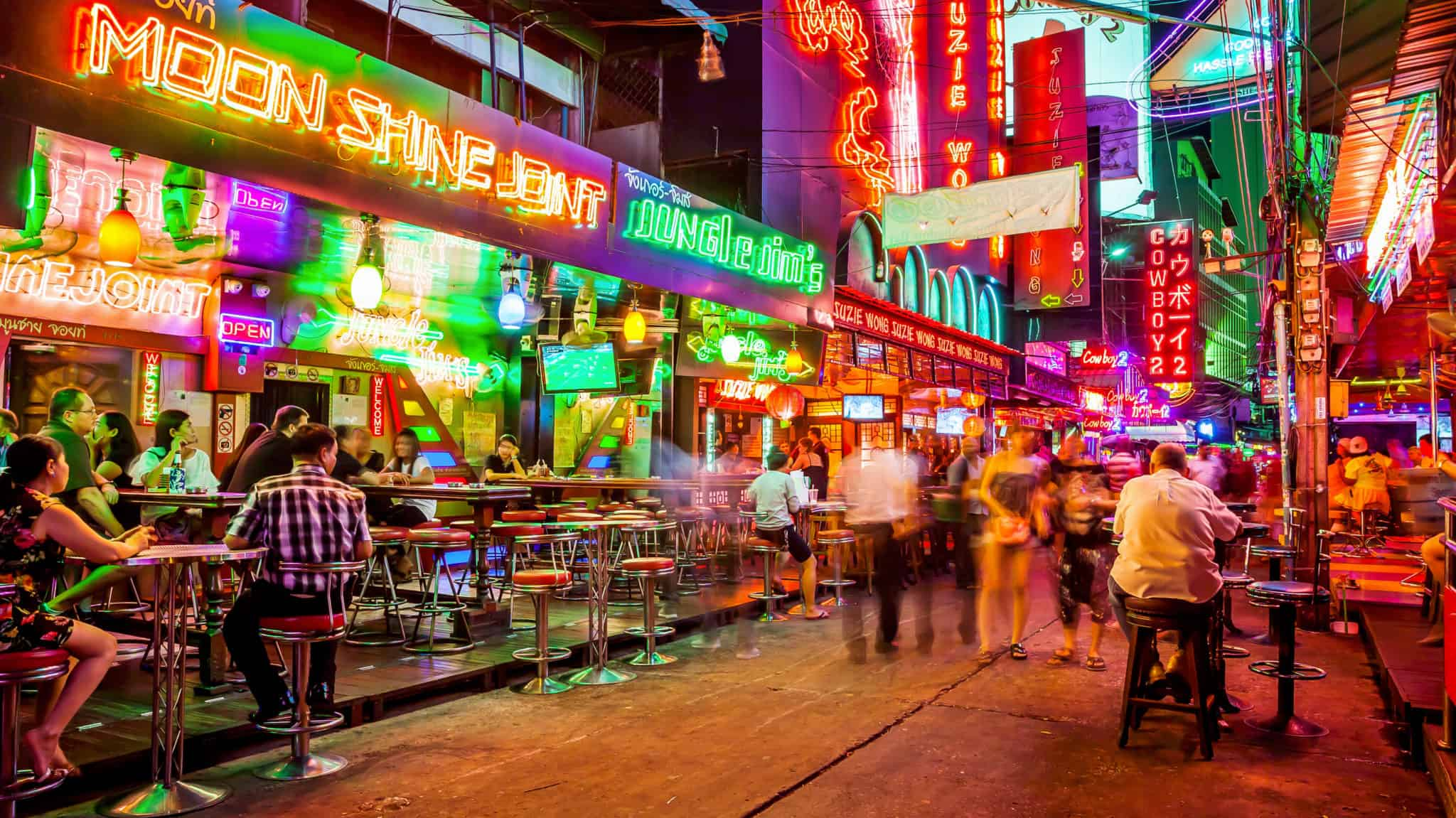 Bars in Thailand